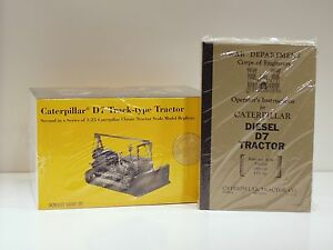 "Caterpillar D7 Cable Dozer - ""MILITARY GREEN"" - NZG #386 - 1/25 - MIB"