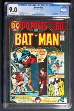 Batman #259 CGC 9.0 1st app. of Babyface Muller, The shadow appearance 1974