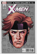 Astonishing X-Men #7 Marvel Comic 2018 McKone Headshot Variant Gambit 1st Print