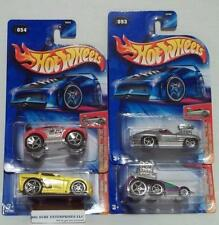 HOT WHEELS 2004 FIRST EDITIONS TOONED CORVETTE BEAST PAJERO LOT hwd