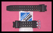 GENUINE CASIO G-SHOCK RISEMAN G9200 GW9200 BLACK STRAP / BAND FITS GULFMAN G9100