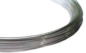 925 Sterling Silver Round Wire (Soft)