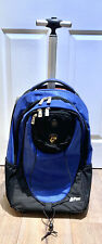 Heys ePac Rolling Wheels Handle Backpack Rucksack Laptop Case Blue Black