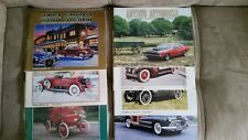 Antique Automobile Club of America Magazine 7 Issues 1998/1999/2000