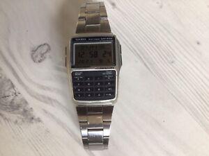 Vintage Casio Databank Calculator Watch
