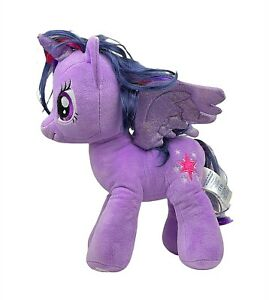 "Build-A-Bear 17"" Twilight Sparkle Purple Plush My Little Pony Stuffed Toy 2017"