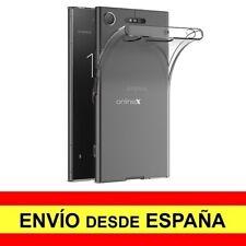 Funda Silicona para SONY XPERIA XZ1 Carcasa Transparente ¡España! a3065