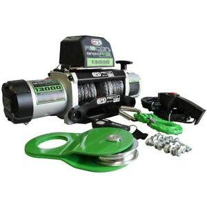 13,000lb Recovery Winch with Synthetic Rope EFS