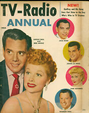 Tv-Radio Annual 1954, Lucille Ball and Desi Arnaz, Full of Pictures and Stories