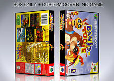 BANJO TOOIE. PAL VERSION. Box/Case. Nintendo 64. BOX + COVER. (NO GAME).