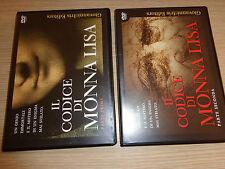 2 DVD IL CODICE DI MONNA LISA LEONARDO DA VINCI L'ARTISTA 1° E 2° PARTE COMPLETO