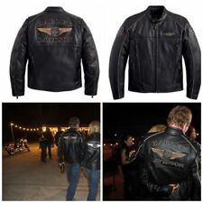Harley-Davidson Limited Edition 110th ANNIVERSARY Veste en cuir 97145-13vm Taille XL
