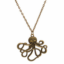 """US SELLER RETRO OCTOPUS LONG CHAIN PIRATES OF THE CARIBBEAN 24"""" NECKLACE"""