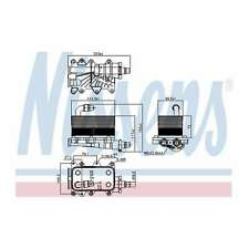 Fits BMW 5 Series E60 535d Genuine Nissens Automatic Gearbox Oil Cooler