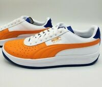 Puma GV Special + Color Block 368385-03 White Blue Orange Sneakers Men's