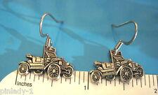 Model T runabout roadster  -  earrings , ear rings GIFT BOXED (Q)