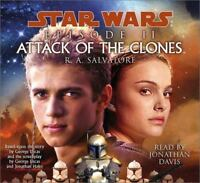 Attack of the Clones by R. A. Salvatore (2002, CD, Abridged)