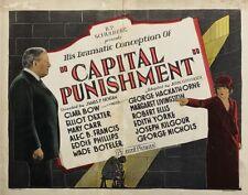 Capital Punishment - 1925 Clara Bow George Hackathorne Pre-Code Silent Film DVD