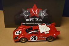 CMR 1/18 1970 Ferrari 512 S #28 3rd Daytona Andretti, Merzario, Ickx (New In Box