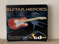 GUITAR HEROES Jimi Hendrix, Eric Clapton, Carlos Santana, Jeff Beck 3xCD's(CD25)