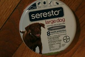 New Seresto Large Breed Dog Collar Provides 8-Month Flea, Tick & Lice Protection