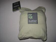 Kushies Organic Jersey Crib Fitted Sheet, Green