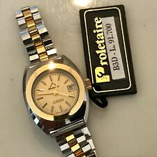 Orologio Watch Proletaire Diver Sub Automatic Vintage NOS lady Anni 70 Swiss Mad