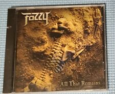 FOZZY - ALL THAT REMAINS  - BRAND NEW, PROMO - 1ST ALBUM CHRIS JERICHO - AEW WWE