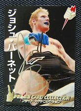 JAPAN PRIDE CARD GP EDITION Josh Barnett GOLD AUTO  UFCMMA