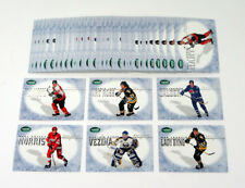 Lot of (10) 1995-96 Parkhurst International Trophy Winner Sets (6) Jagr Hasek