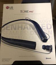 Genuine Lg Tone Pro Hbs-780 Bluetooth Wireless Stereo Headset Blue