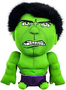 Marvel 15 Inch Avengers Hulk Deluxe Talking Plush Toy
