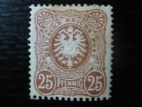 DEUTSCHES REICH Mi. #43 scarce mint Crown & Eagle stamp! CV $24.00