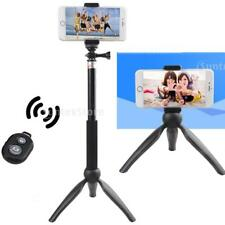 Tripod Camera With Remote Phone Holder EXTENTABLE Selfie Stick for GoPro