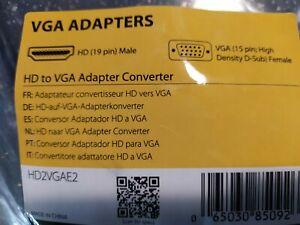 convertisseur STARTECH HDMI vers VGA (HD2VGAE2)