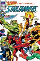 Marel Comics X-Men Spotlight on Starjammers #2 of 2 Free Shipping