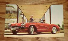 1960 Chevrolet Corvette Post Card 60 Chevy