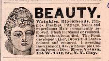 1890 die AD Mme Velaro Falten entfernt Mitesser Teint Beauty Secrets