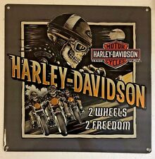 Ande Rooney HARLEY DAVIDSON ROAD RAGE Tin HD Motorcycle Garage Man Cave Sign