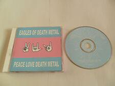 Eagles of Death Metal - Peace Love Death Metal (CD 2004) USA Pressing