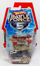 2009 MATTEL HOT WHEELS BATTLE FORCE 5 BRAND NEW MOSC MOC - FANGORE VEHICLE