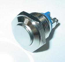 edelstahltaster, Pulsante campanello, 16mm, 1-polig, chiusura, 250V/3A, S161