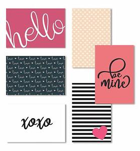 Cavepop Love Note Cards, Valentine's Day Cards with Envelopes - 36 Assortment