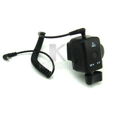Camcorder Zoom Remote Control Controller 2.5mm Spring Cable for Sony Canon Lanc