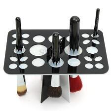 NEW Acrylic Make Up Brushes Dryer Holder Stand Cosmetic Holder Storage Organizer