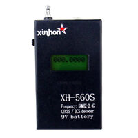 XH-560S CTCSS/DCS Decoder Frequency Counter Meter For BaoFeng UV-5R WalkieTalkie