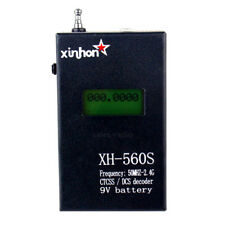 YB-562 LCD Display CTCSS/DCS Decoder Frequency Counter Meter for Radios XH-560S