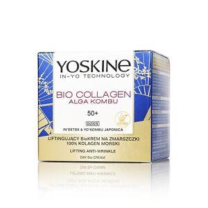 YOSKINE Bio Collagen Alga Kombu krem na dzień/ Lifting anti-wrinkle day cream 50