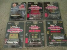 6 1970 CHEVY CHEVELLE SS RACING CHAMPIONS MINT 6 CAR LOT  NEW CHEVROLET SEALED