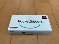 Sony PocketStation PlayStation PS Crystal SCPH-4000 BOX and Manual Japan PS44